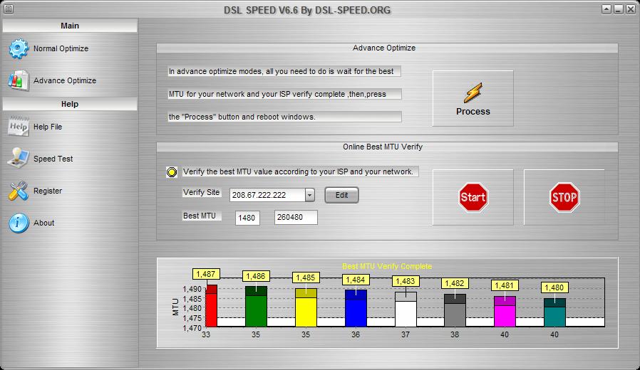 برنامج DSL speed 6.0 لزيادة الانترنت بنسبة 300%