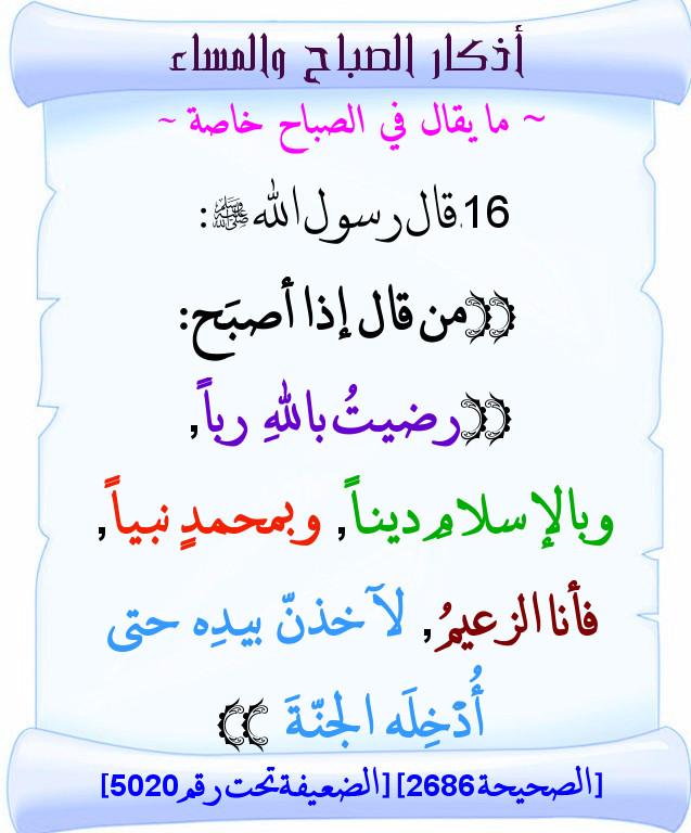 حصــــن المسلـم (ذكر الله) Attachment